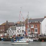 Weymouth Harbour celebrates the Queen's Jubilee