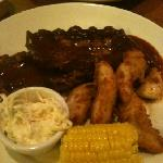  chicken and ribs combo!!
