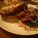 chicken burger!!