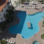 Beach Club Resort Pool (from the 11th floor)