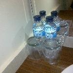 Complimentary mineral water