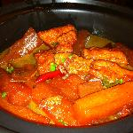  Stewed vegetables--excellent!
