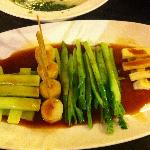  &quot;Al dente&quot; veggies, beautifull;y plated