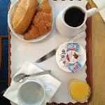 Breakfast in the room (additional 8 Euros)