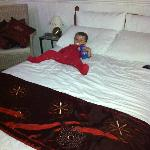 My little boy found the bed very comfortable!