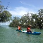 Our kayak activity at Chandara Resort & Spa, very fantastic