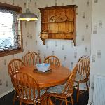  Self Catering Cottage Dining area. seats 4-6 with extending table