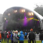 The main stage at festival