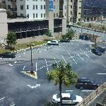 View from room looking east. Overflow parking.