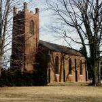 St. John's Church is an old plantation church that is still today as it was in the 1800's.