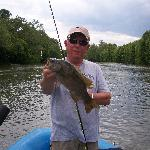 Smallmouth with Mossy Creek Outfitters