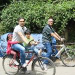 Cycling around Kodaikanal Lake