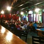 Da Big Kahuna bar and tables