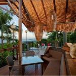  The stunning deck with views of the Coral Sea