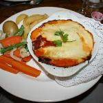 Spinach and Ricotta Cannelloni (£9.15)