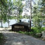 the lake sauna
