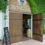 Entrance to tasting room