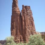 The amazing Spider Rock formation