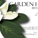 Logo B&B Garden House