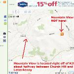  Map to Mountain View