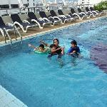 swimming pool at 7th floor