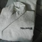 Bathrobes available in whirlpool suites