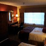 2Q suite in bed area