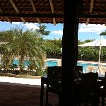  restaurant view to the pool