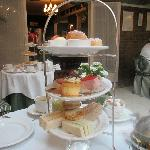 Wonderful afternoon tea - yum!