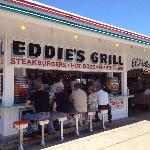  Eddies Grill Outside seating.