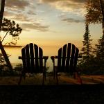 Relax along Lake Superior and take in the sunset