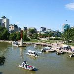 The Forks National Historic Site, Winnipeg, Manitoba, Canada