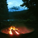 fire with glacier, or snowy mountain? whatever, it's stunning.