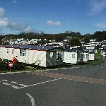 Some of the caravans in the Park