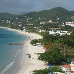 Grand Anse beach from South