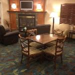  The lounge by the front desk