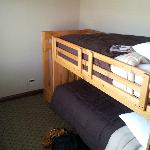 Private Bunk Bed Room attached to Queen Suite