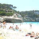  Cala Mitjana is a beautiful &#39;no-facilities&#39; beach near Cala Galdana