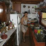  Maria in her kitchen
