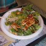  Chicken Caesar Salad with Teriyaki Sauce