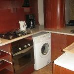  Kitchen in Borne Deluxe Apartment L