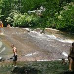  Sliding Rock 20 minutes away! Yahoo!