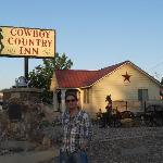 Outside the Cowboy Country Inn