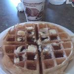 Breakfast Waffel-