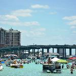 SunVenture's Crab Island Cruise gives you unparalleled views of Destin Florida.