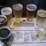 Bull& Bones is a great microbrewery with a wide variety of brewing styles and flavors.