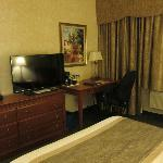 Ground floor hotel room