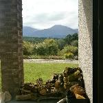  view from the front door overlooking Ben Nevis range
