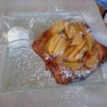 The lightest, most amazing apple tart. Heaven!!!!