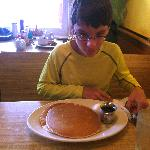 Pancakes as big as your head